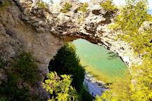 Arch Rock, Mackinac Island, United States