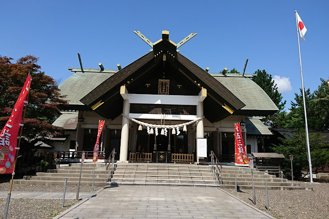 Nakajima Shrine, Muroran, Japan