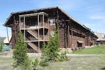 Old Faithful Visitor Education Center, Yellowstone National Park, United States
