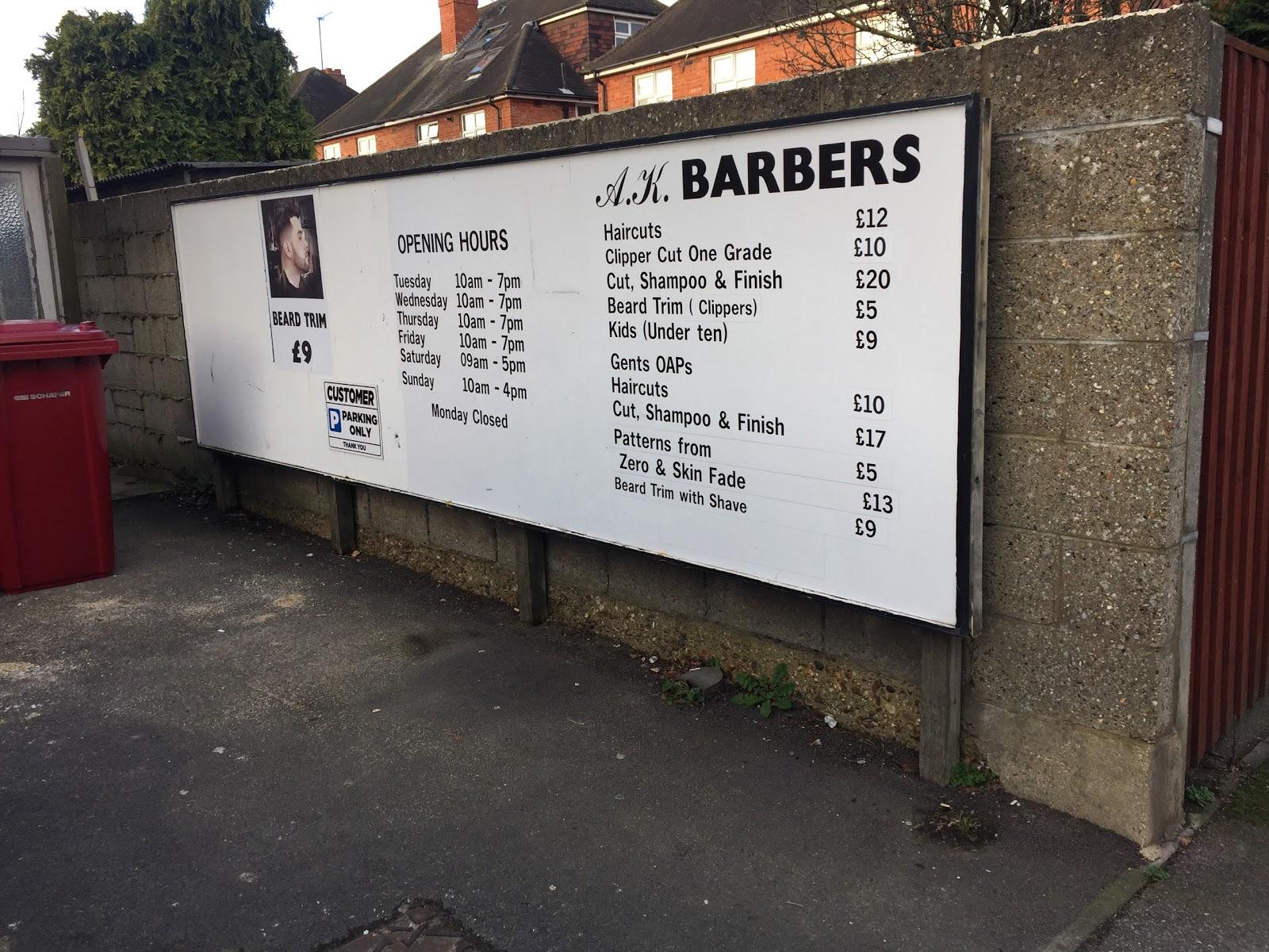 A.K. Barbers