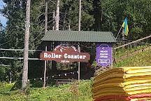 Roller Coaster Zipline, Polyanytsya, Ukraine