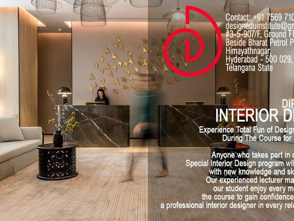 interior design institute in hyderabad telangana