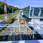 Железнодорожная станция  Krymskaia