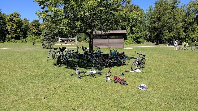 Campground at Peninsula State Park