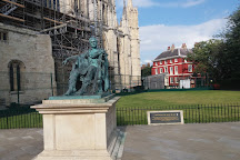 Constantine The Great Statue, York, United Kingdom