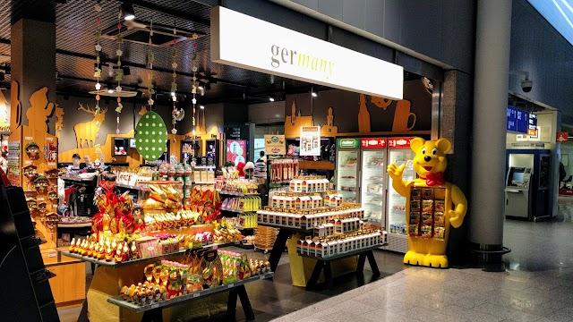 FRA Frankfurt-Terminal 1 Departure