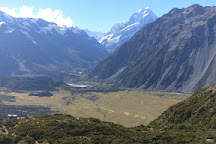 Red Tarns Track, Mt. Cook Village, New Zealand