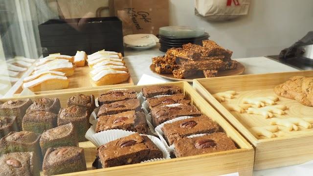 Cafe Kitsune кофе и пирог с собой
