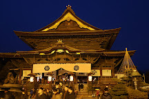 Zenko-ji Temple Sammon Gate, Nagano, Japan