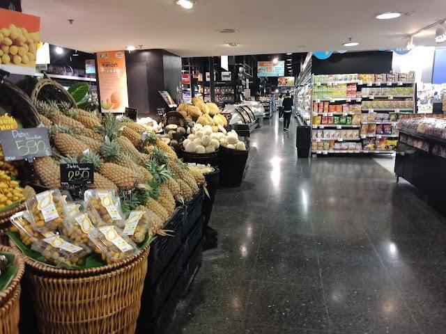 Tops market CentralPlaza Kard Suan Kaew (Huaykaew)