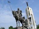 Памятник 1000-летию Брянска, улица Калинина на фото Брянска