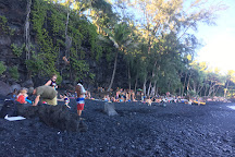 Kehena Black Sand Beach, Pahoa, United States