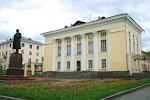 Национальная библиотека Удмуртской Республики, Красноармейская улица на фото Ижевска