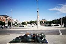 Mujer con Espejo - De Fernando Botero, Madrid, Spain