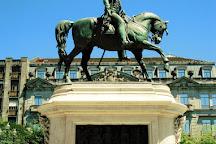 Monument to King Dom Pedro V, Porto, Portugal