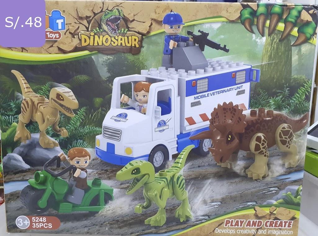Dinosaurios armables