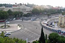 Fuente de la Alcachofa Madrid, Madrid, Spain