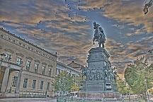 Reiterstandbild Konig Friedrich II von Preussen, Berlin, Germany