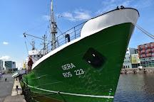 Museumsschiff FMS GERA, Bremerhaven, Germany