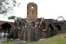 Colonia Guell  Gaudi Crypt, Santa Coloma de Cervello, Spain