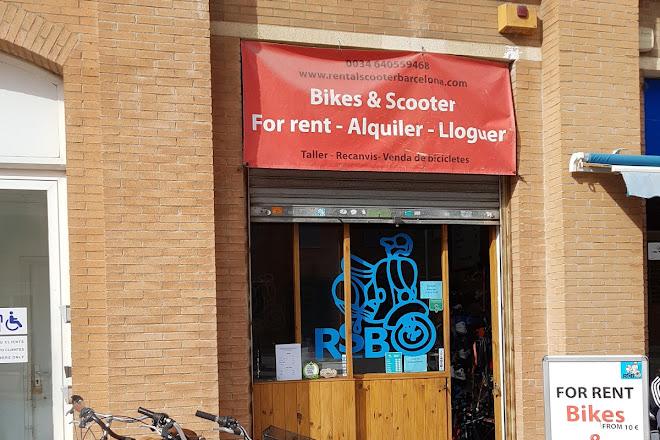 Rental Scooter Barcelona, Barcelona, Spain