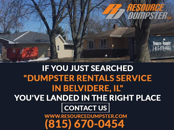 Dumpster Rental Belvidere IL