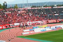 Kumamoto Athletics Stadium (Umakana Yokana Stadium), Kumamoto, Japan