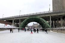 Corktown Footbridge, Ottawa, Canada