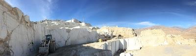 Afghan Morvarid quarry