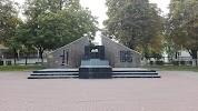 Памятник В.И. Ленину на фото Губкина