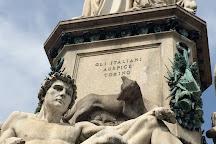 Monumento a Camillo Benso conte di Cavour, Turin, Italy