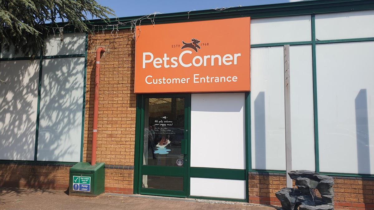 Pets Corner Shenstone store
