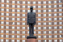Charles de Gaulle Statue, Moscow, Russia