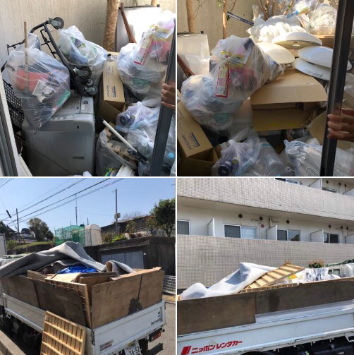 神奈川県相模原市南区残置回収