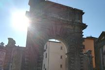 Porta Albana, Bagnoregio, Italy