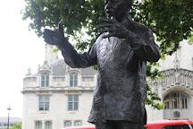 Nelson Mandela Statue, London, United Kingdom