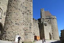 Chateau et Remparts de la Cite de Carcassonne, Carcassonne Center, France