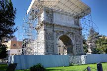 Arco di Traiano (114 d. C.), Benevento, Italy