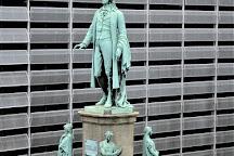 Schiller Denkmal, Hamburg, Germany