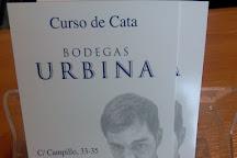 Bodegas Urbina, Cuzcurrita de Rio Tiron, Spain