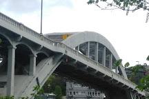 Oregon City Arch Bridge, Oregon City, United States