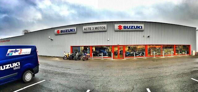 Moto Axxe Metz (Acte3) - Suzuki - Mash Center Metz Actisud