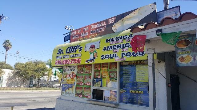 Sr Cliff's Texas Style Burritos