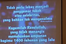 At Tin Mosque, Jakarta, Indonesia