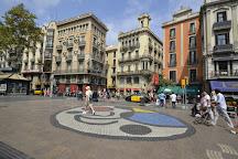 Mosaic del Pla de l'Os, Barcelona, Spain