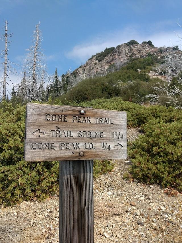Cone Peak Trail Trailhead and Parking