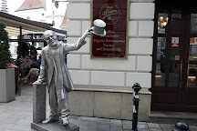 Schone Naci Statue, Bratislava, Slovakia