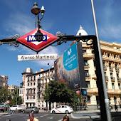 Станция метро  станции  Madrid
