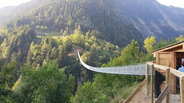 Ponte Sospeso Tibetano Campo Tartano