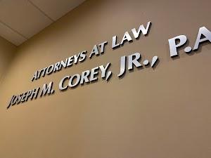 Attorneys at Law Joseph M Corey